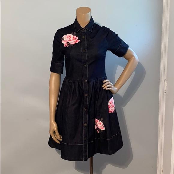 kate spade Dresses & Skirts - WORN ONCE Kate Spade Denim Dress